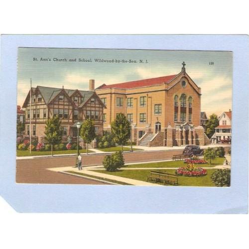 NJ Wildwood By The Sea St Anns Church & School nj_box2~723