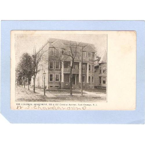 NJ East Orange The Colonial Apartment 155 & 157 Central Ave  nj_box2~816