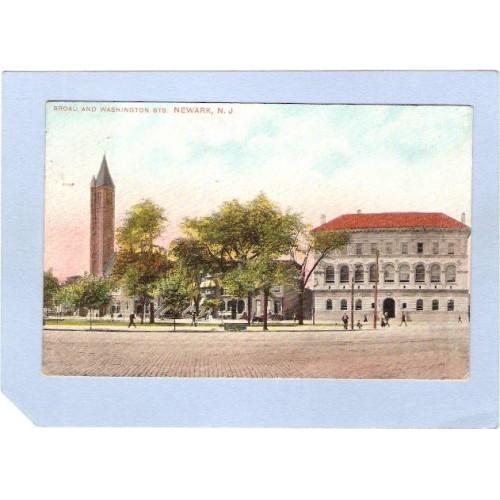 NJ Newark Broad & Washington Sts nj_box2~935