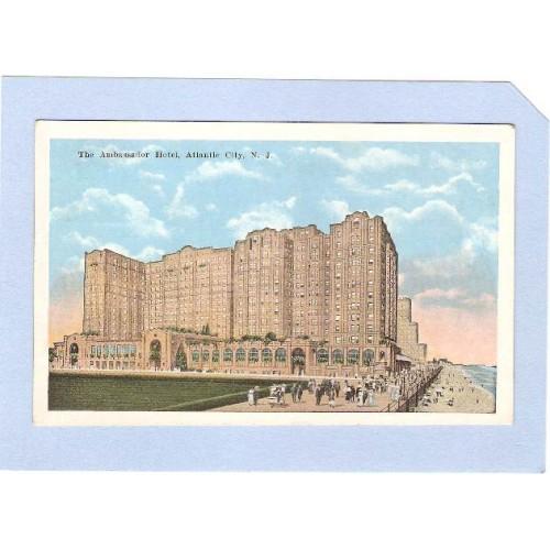 NJ Atlantic City The Ambassador Hotel nj_box1~94