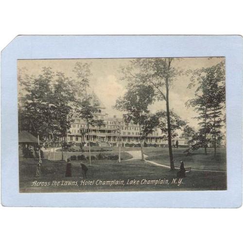 New York Lake Champlain Across The Lawns Hotel Champlain ny_box3~1149
