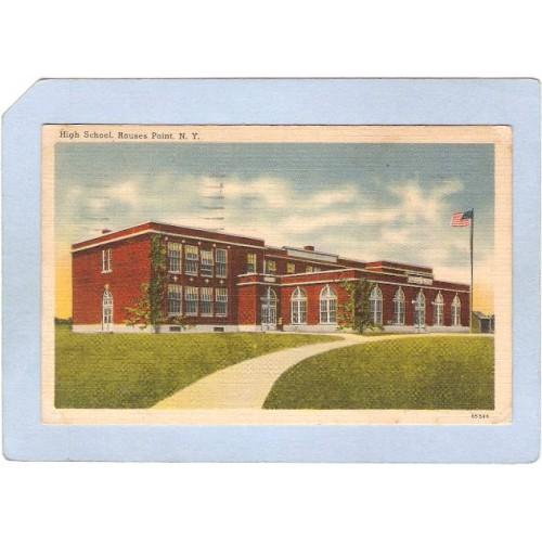 New York Rouses Point High School ny_box3~1155