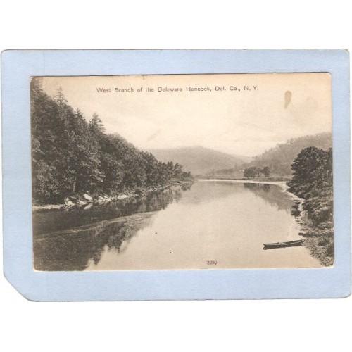 New York Hancock West Branch Of The Delaware River ny_box3~1344