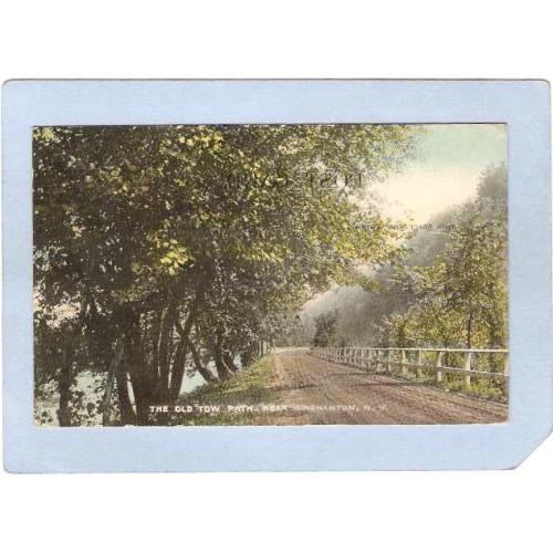 New York Binghamton The Old Tow Path ny_box2~494