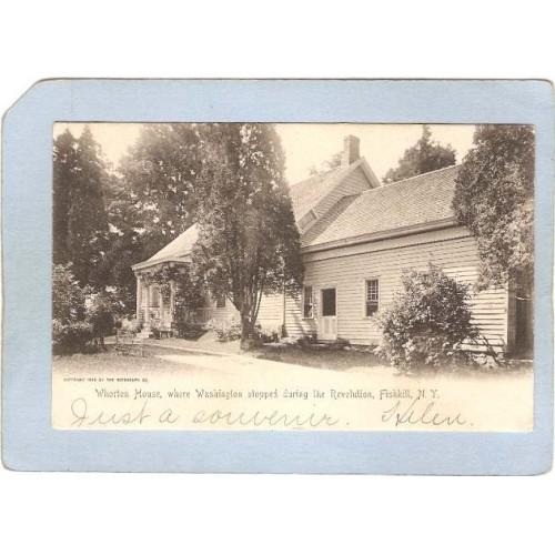 New York Fishkill Whorton House Where Washington Stopped During The Revolu~2074