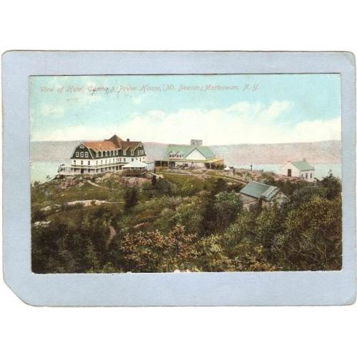 New York Matteawan View Of Hotel Casino &Power House Mt Beacon ny_box4~2083