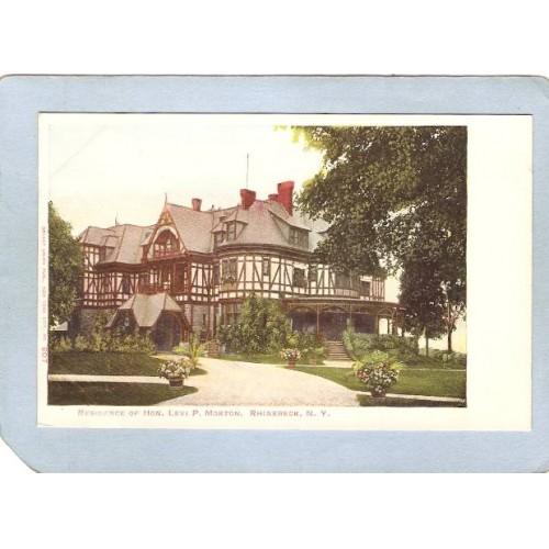 New York Rhinebeck Residence Of Hon Levi P Morton ny_box4~2115