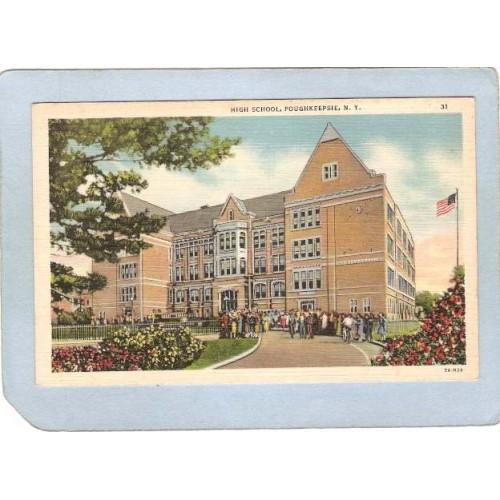 New York Poughkeepsie High School ny_box4~2269