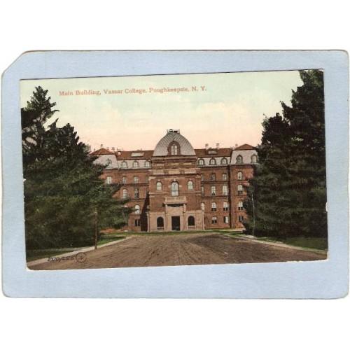 New York Poughkeepsie Main Building Vassar College ny_box4~2309