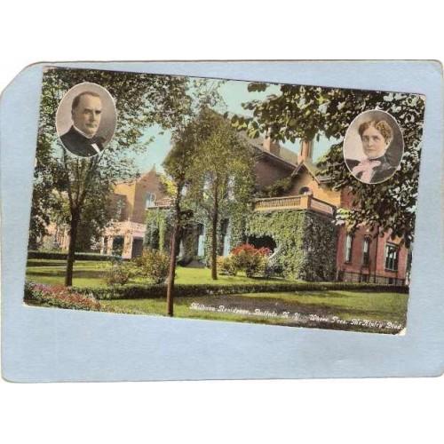 New York Buffalo Milburn Residence Where Pres McKinley Died Sept 14th 1901~2575