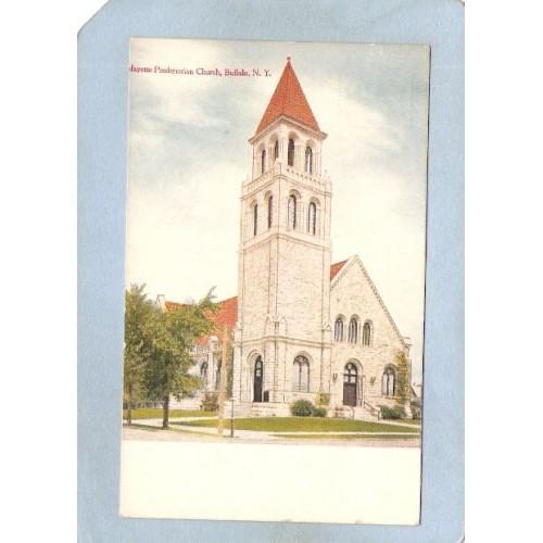 New York Buffalo Lafayette Presbyterian Church ny_box4~2644