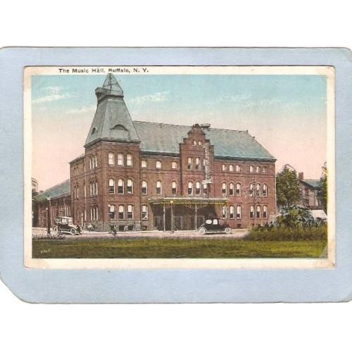 New York Buffalo The Music Hall w/Old Cars ny_box4X1~2685