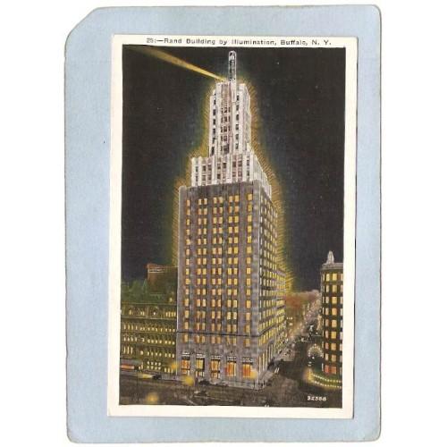 New York Buffalo Rand Building By Illumination ny_box4X1~2691