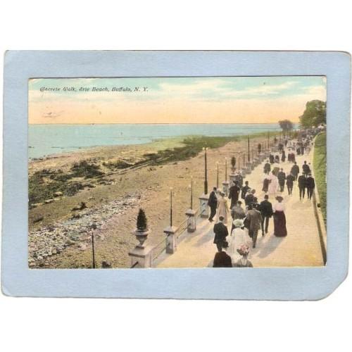 New York Buffalo Concrete Walk Erie Beach ny_box4X1~2834