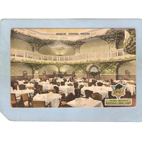 New York Buffalo Arbor Dining Room Hotel Buffalo ny_box4X1~2887