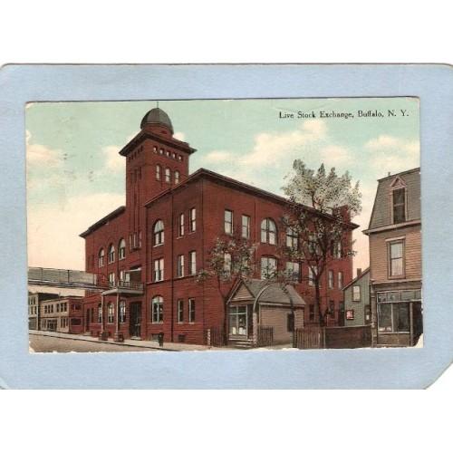 New York Buffalo Live Stock Exchange ny_box4X1~2904