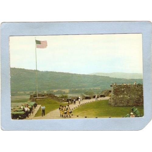 New York Fort Ticonderoga South Battery & Flag Bastion ny_box5~1569