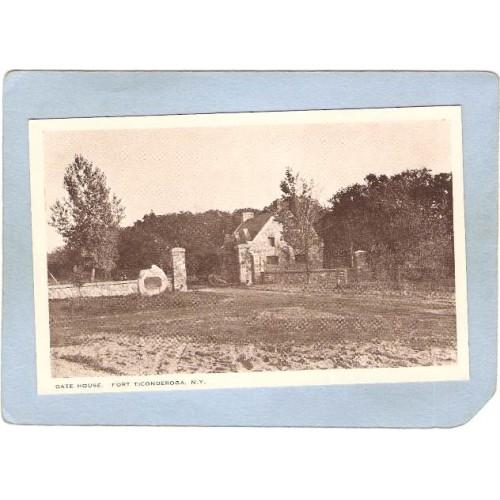 New York Fort Ticonderoga Gate House ny_box5~1641