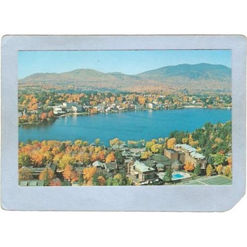New York Lake Placid Aerial View Lake Placid ny_box5~1666
