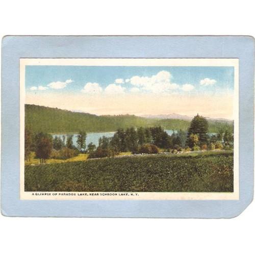 New York Schroon Lake A Glimpse Of Paradox Lake ny_box5~1782