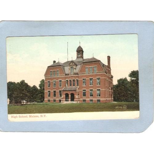 New York Malone High School ny_box5~1888