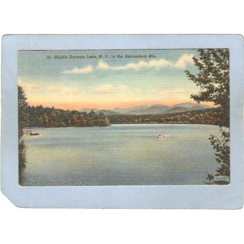 New York Saranac Lake Middle Saranac Lake ny_box5~1918