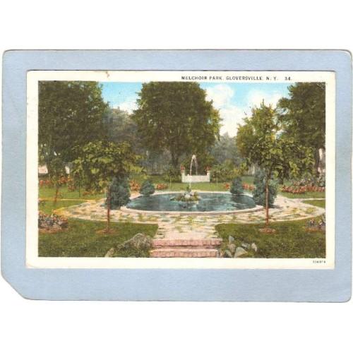 New York Gloversville Melchoir Park ny_box5~1981