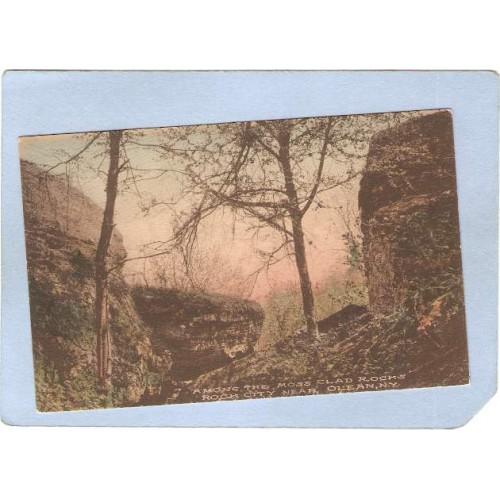 New York Rock City Among The Moss Clad Rocks ny_box2~675