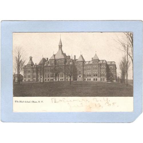 New York Olean High School  ny_box2~705