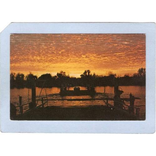 New York Chautauqua Lake Bemus Point-Stowe Ferry At Sunset ny_box3~855