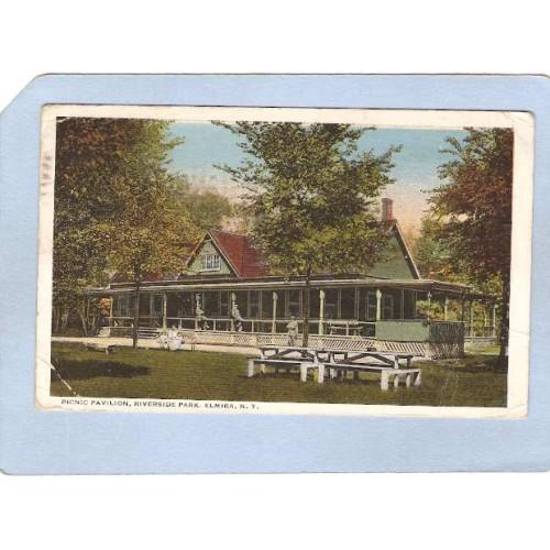 New York Elmira Picnic Pavilion Riverside Park ny_box3~987
