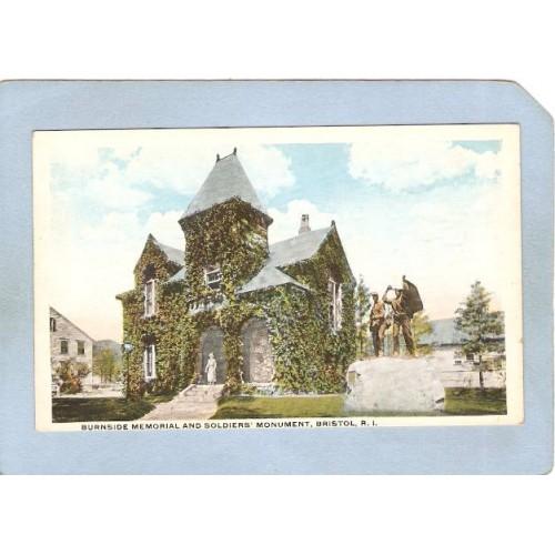 RI Bristol Burnside Memorial & Soldiers' Monument ri_box1~169