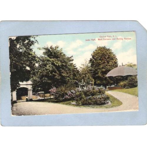 RI Central Falls Jenks Park Main Entrance & Resting Pavillion ri_box1~237