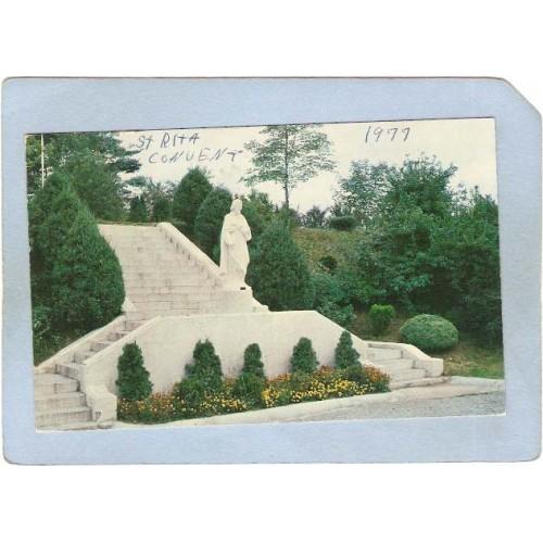 RI Cumberland Statue Of St Joseph Mt St Rita Convent ri_box1~326