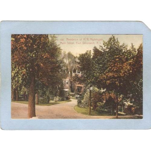 RI East Greenwich Residence Of H K Nightingale Main St ri_box1~368