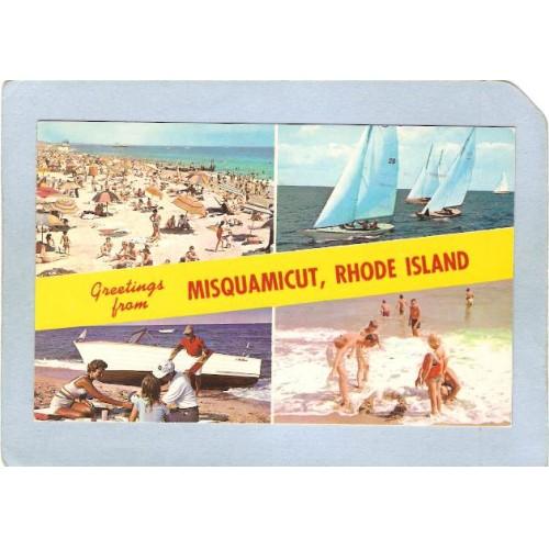 RI Misquamicut Greetings From Misquamicut Rhode Island 4 View ri_box2~691