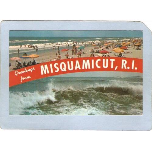 RI Misquamicut Greetings From Misquamicut RI ri_box2~693