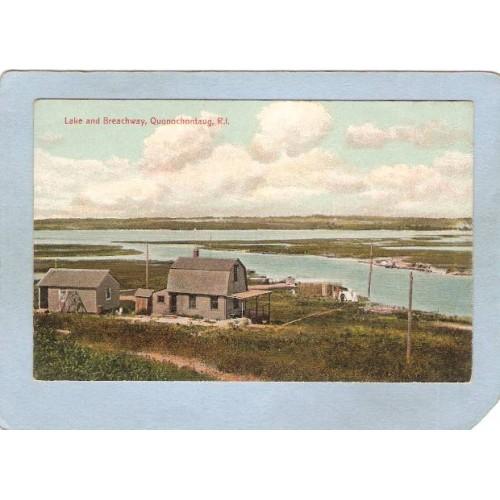 RI Quonochontaug Postcard Lake & Breachway ri_box3~1120
