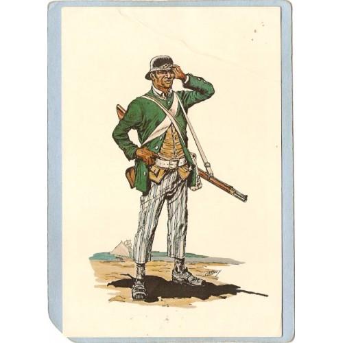 RI Generic Postcard Battalion Private First Rhode Island Regiment ri_bo~1350