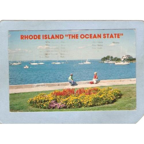 RI Narragansett Bay Postcard  ri_box3~1374