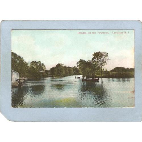 RI Pawtucket Postcard Rhodes On The Pawtucket ri_box3~930