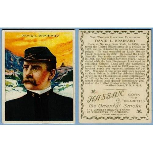 Tobacco Card ~ Company: American Tobacco Company Brand: Hassan Cork Tip Ci~23