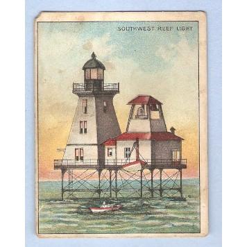 LA Atchafalaya Bay Tobacco Card Company: American Tobacco Company Brand: H~116