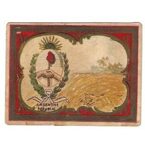 Tobacco Card ~ Company: American Tobacco Company Brand: Helmar Turkish  Ci~20