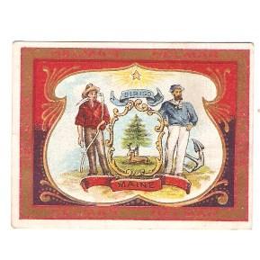 Tobacco Card ~ Company: American Tobacco Company Brand: Helmar Turkish  Ci~6