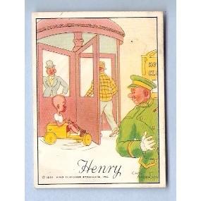 Tobacco Card ~ Company: American Tobacco Company Brand: Herbert Tareyton C~97