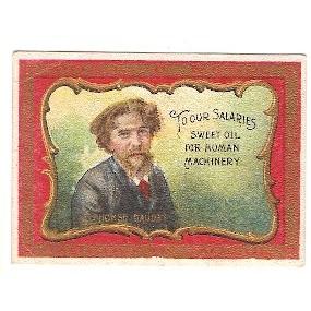 Tobacco Card ~ Company: American Tobacco Company Subsidiary: S. Anargyros ~148