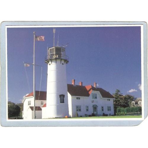 MA Chatham Lighthouse Postcard Chatham Light Cape Cod lighthouse_box1~493