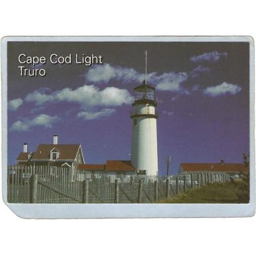 MA Truro Lighthouse Postcard Cape Cod Light lighthouse_box1~590