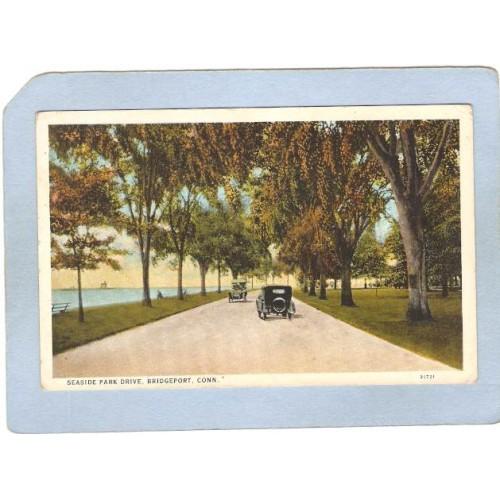 CT Bridgeport Lighthouse Postcard Lighthouse lighthouse_box1, ct_box1, ~64